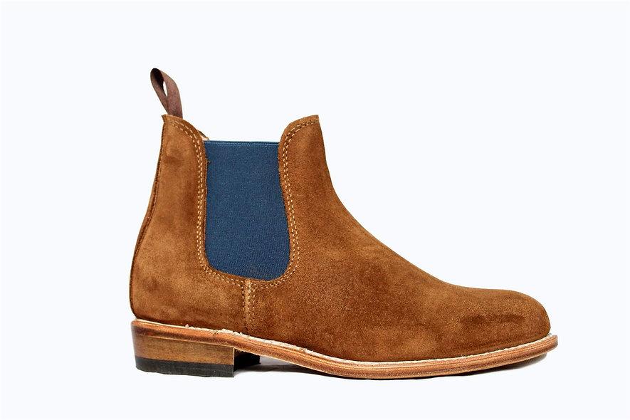 La Chelsea Boots Low Camel