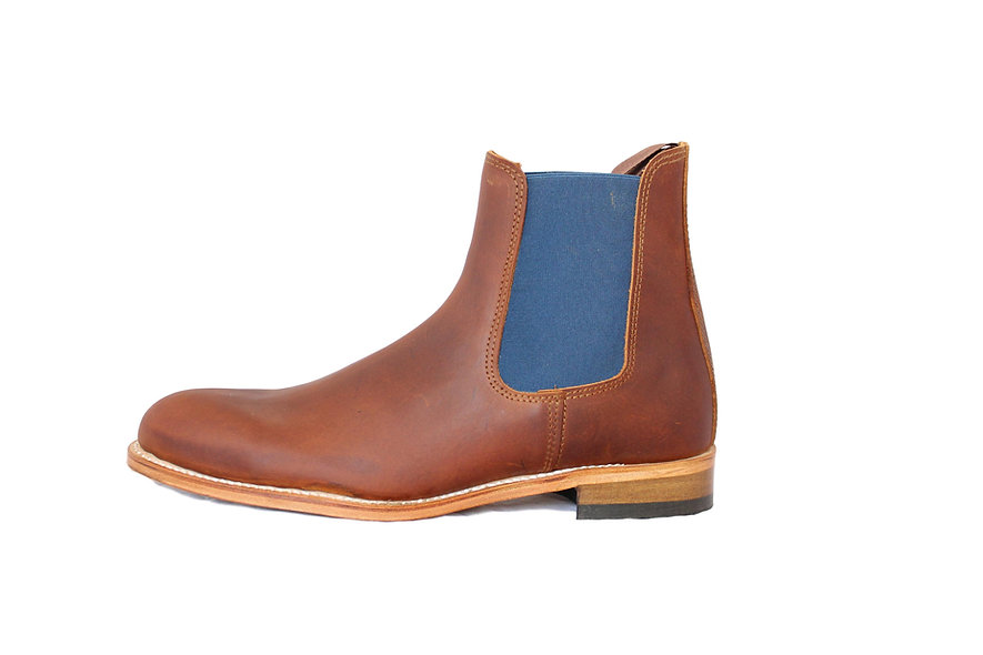 Chelsea Boots   Campagne Homme Caramel
