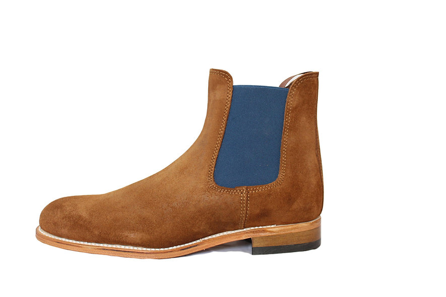 Chelsea Boots Homme Camel