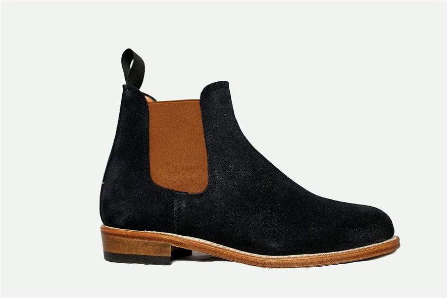 La Chelsea Boots Low Navy