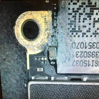 【基盤修理】iPhone 6水没による電源不良