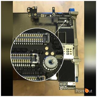 【基盤修理】iPhone 6 交換した新品の液晶が映らない!