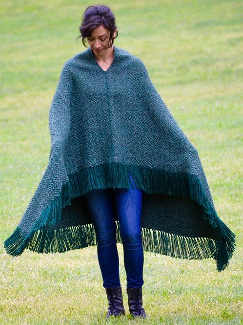 Oversized Blanket Poncho