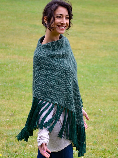 Triangular Poncho (extra thick)