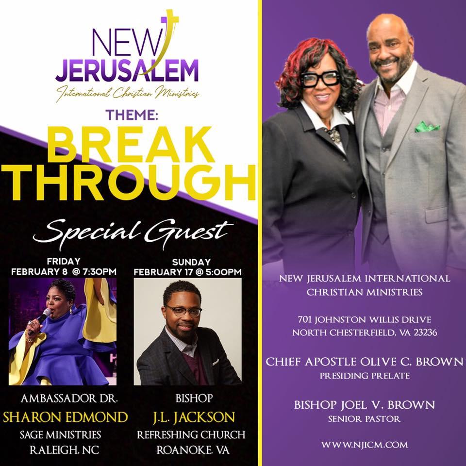 Calendar | J  L  Jackson | Bishop
