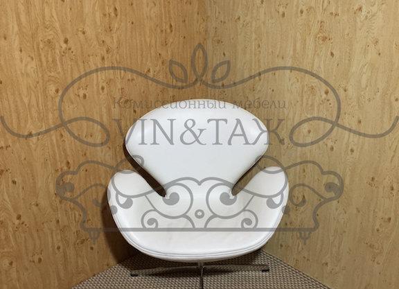 Кресло Swan, белое