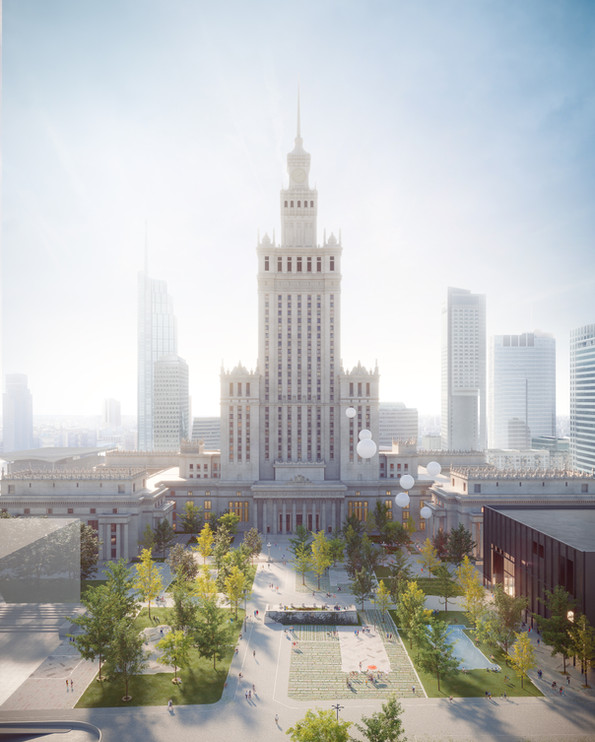 A-A COLLECTIVE - WARSAW CENTRAL SQUARE