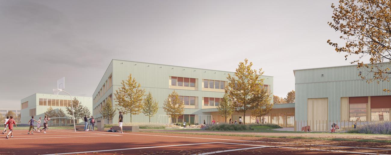 2pm Architekci - Szkoła przy ul. Cynamonowej