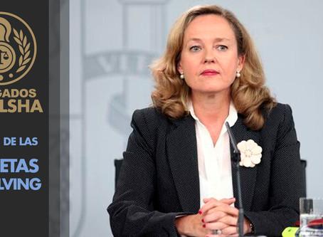 La vicepresidenta de Asuntos económicos anuncia medidas ante la oleada de tarjetas revolving