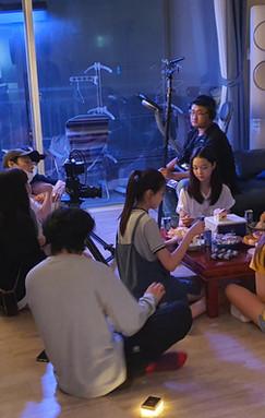"""독립장편영화 """"한 밤의 판타지아"""" 촬영현장"""
