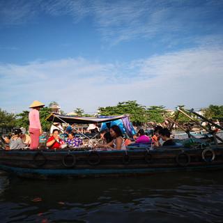 Marché flottant, Cần Thơ