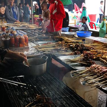 Le marché aux crabes de Kep, Cambodge
