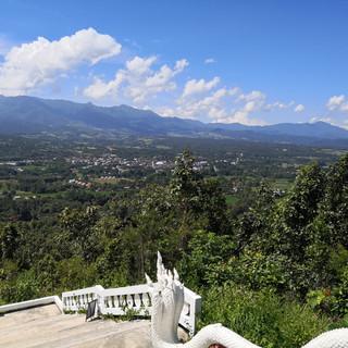 Vue de la pagode, Province de Pai