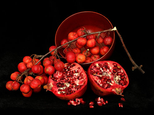 Pomegranate and Crab Apple