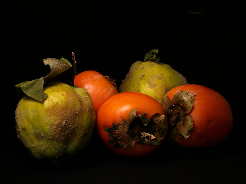 Quince and Persimmon