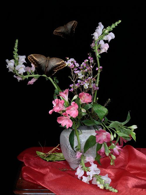 A Vase of Flowers, Snapdragon 2