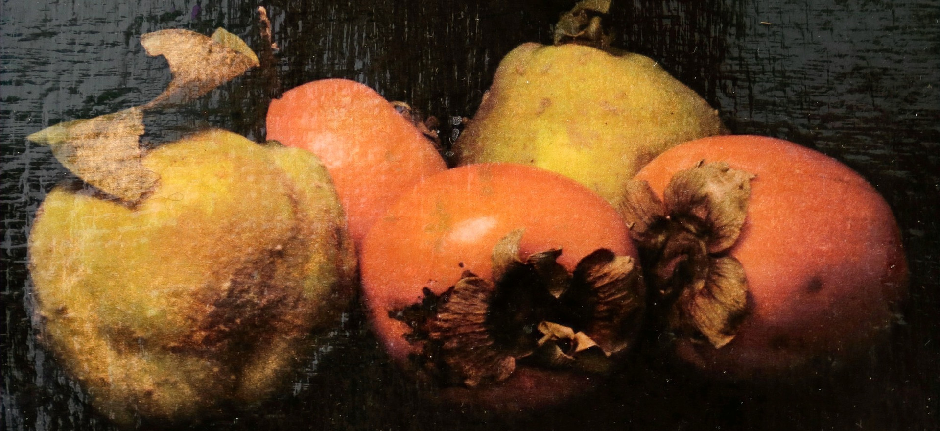 Quince and Persimmon - image