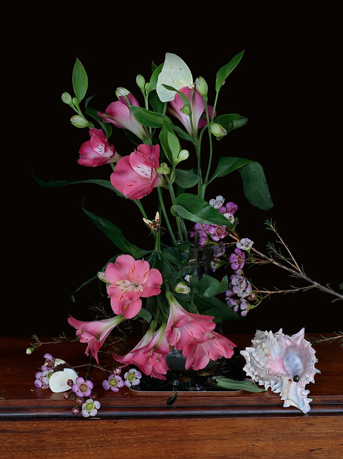 A Vase of Flowers, Tumble