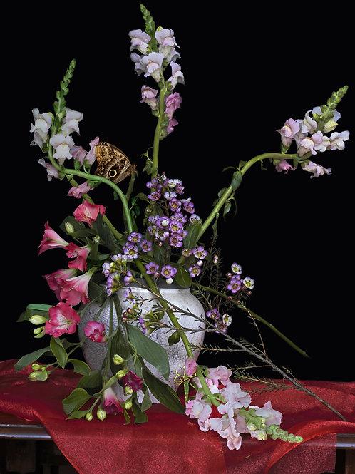 A Vase of Flowers, Snapdragon1