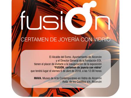 Fusion. Certamen de Joyería Con Vidrio