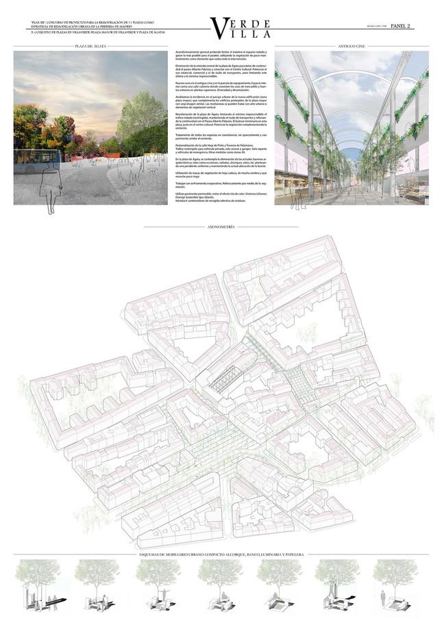 Remodelación de las Plazas Ágata y Mayor de Villaverde