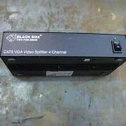 Black Box, Cat5 VGA Video Splitter, 4 Channel