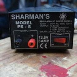 Sharmans Power Supply 240VAC/ 13.8DC , PS-5