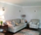 New plastered living room