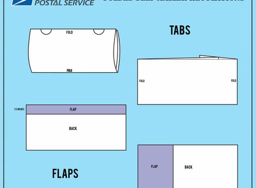 USPS Self Mailer Spec Changes Part II