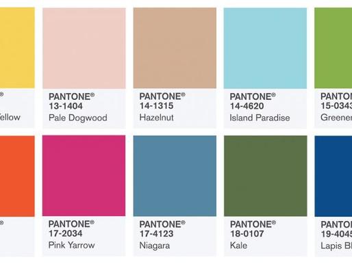 Spring/ Summer 2017 Pantone Colors: