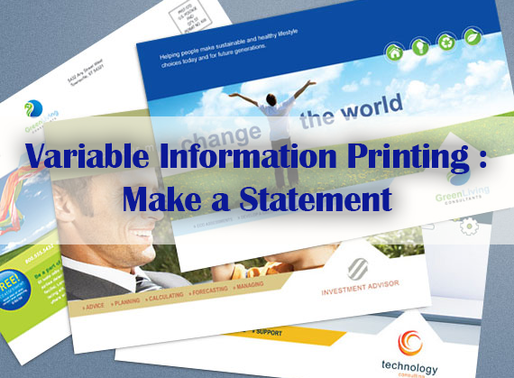 Variable Information Printing