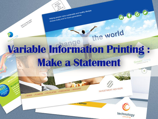 Variable Information Printing