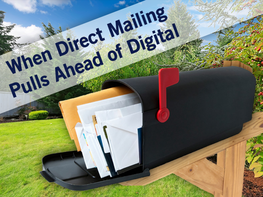 When Direct Mailing Pulls Ahead of Digital