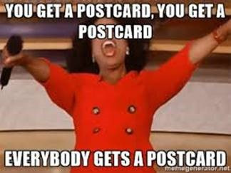 Postcards For Everybody