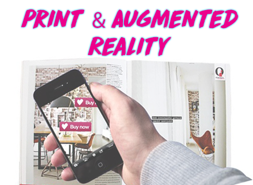 Make Print interactive with Augmented Reality