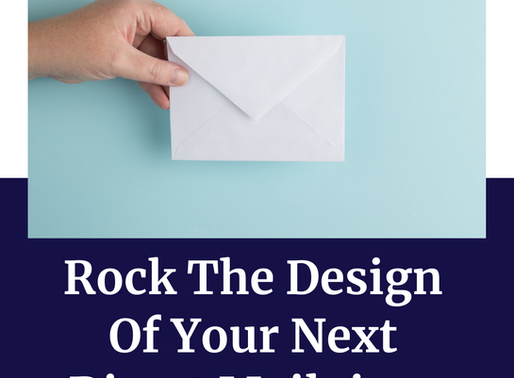 Rock The Design Of Your Next Direct Mailpiece