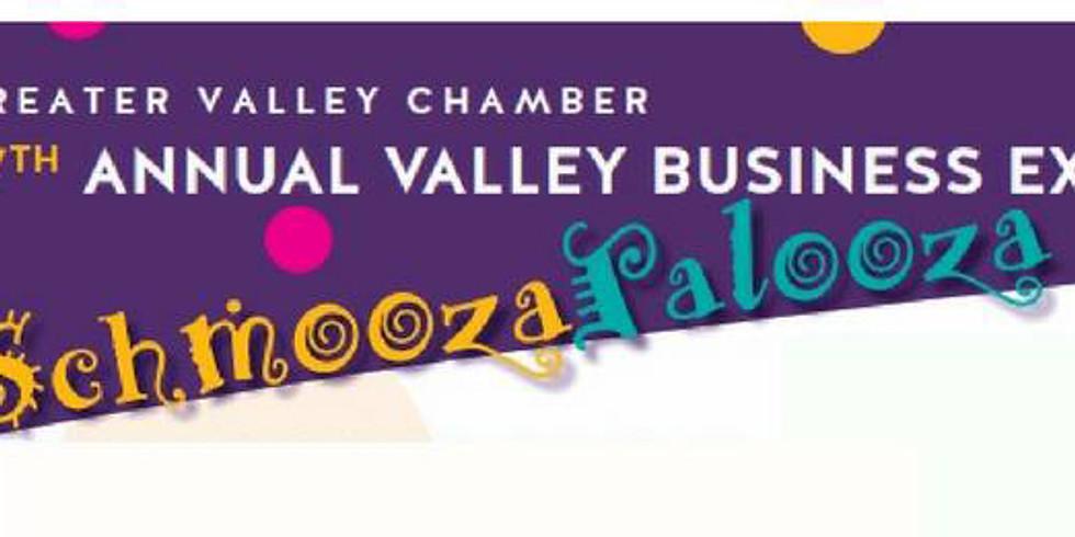 2018 Schmooza Palooza aka Valley Business Expo Apr 18th, 2018 | 2:30 PM - 6:30 PM