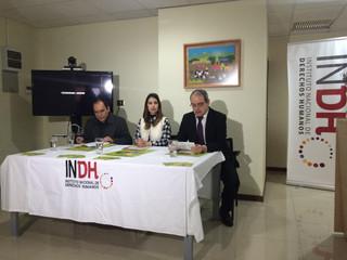 CERETI asiste a lanzamiento del Concurso Nacional de Arte y DDHH.