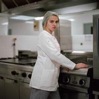 Eléonore en stage cuisine (2017)