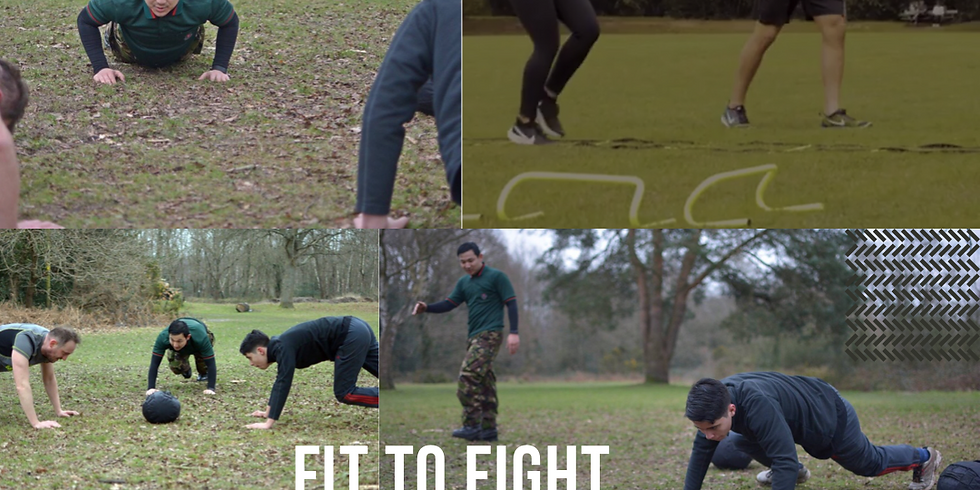 Fit 2 Fight Boot camp