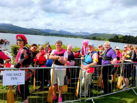 Windemere Paddlers for Life Regatta