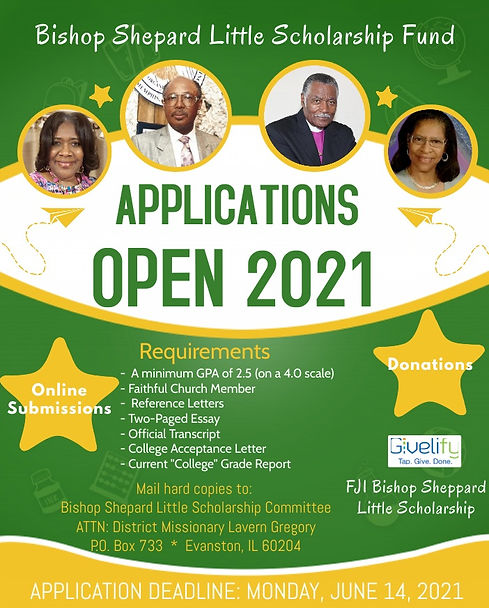 Scholarship Award Application  Flyer (1)
