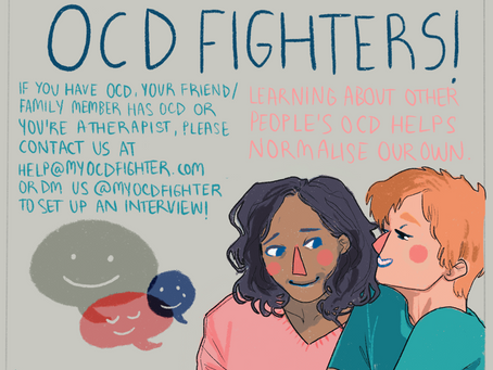 NEW SERIES: OCD Fighters