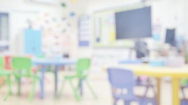 Kindergarten classroom school background