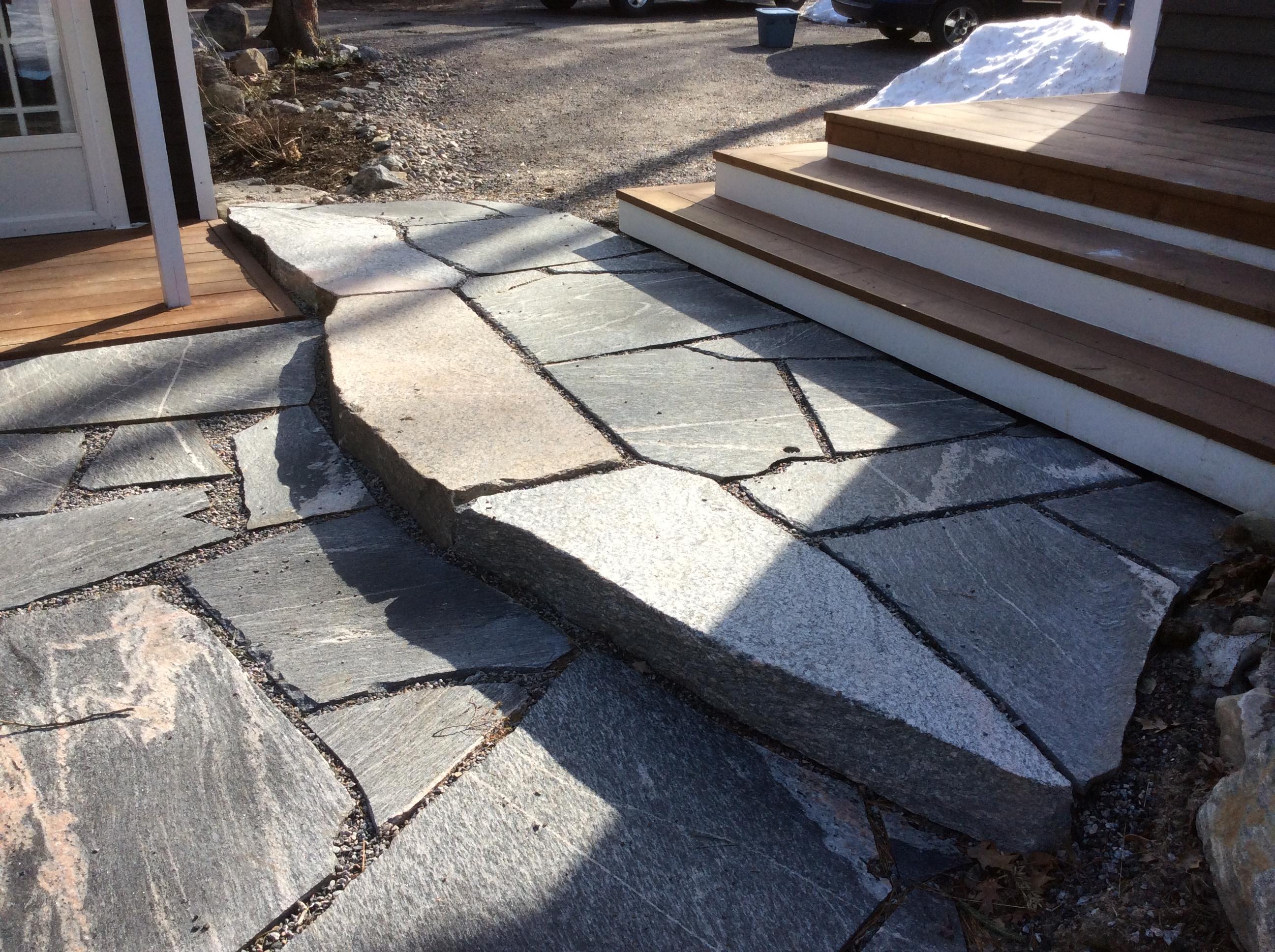 Muskoka Granite Patio & Steps