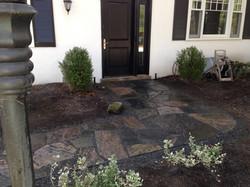 Muskoka Granite Walkway