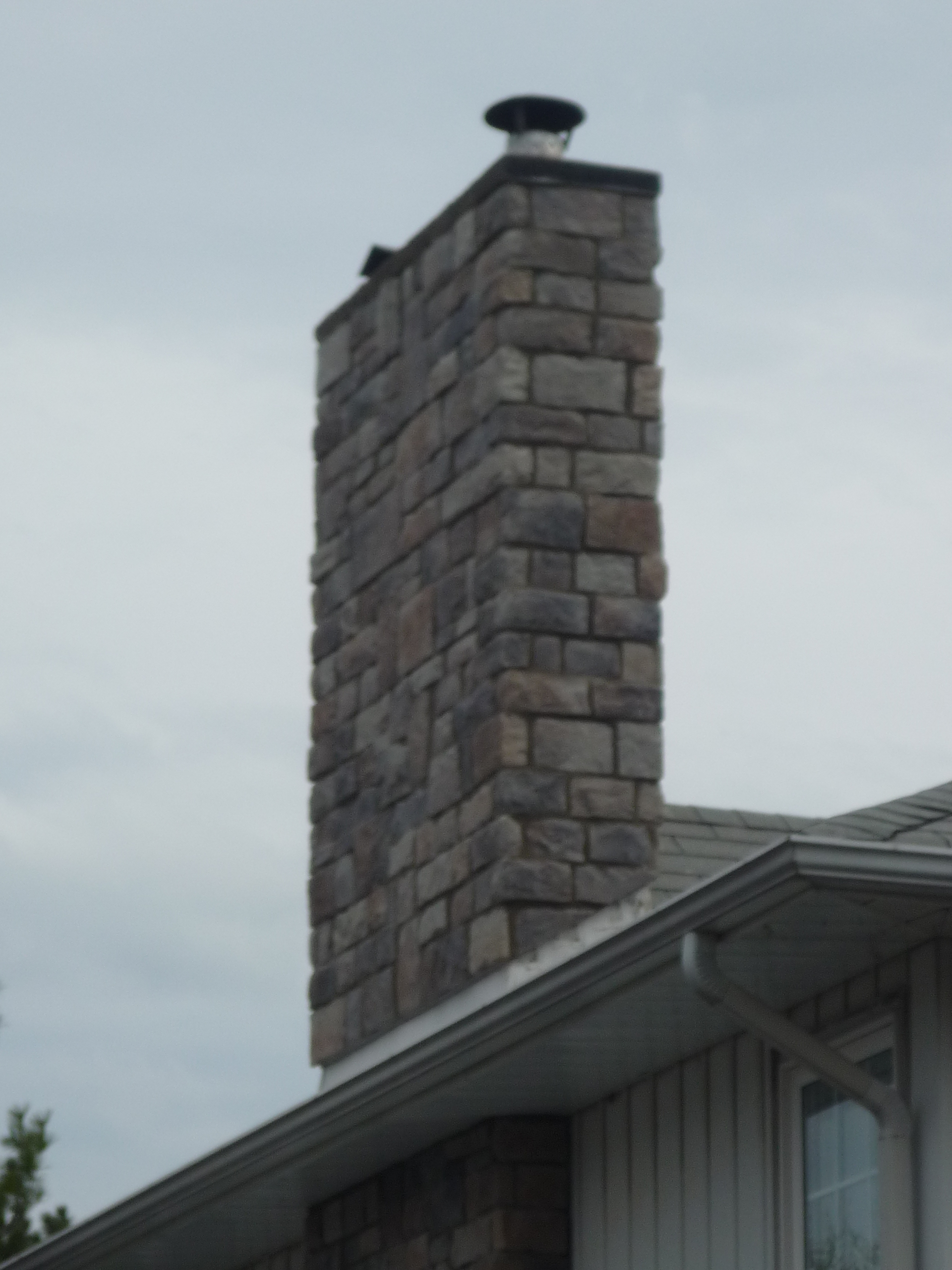Chimney - Ledge Stone