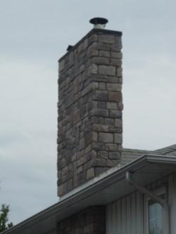 Chimney - Ledge Stone