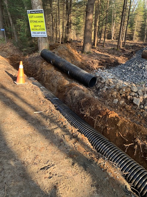 Culvert for driveway