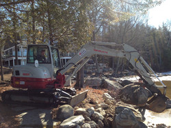 Excavation and Boulders